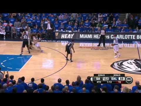 San Antonio Spurs vs Dallas Mavericks Game 3   April 26, 2014   NBA Playoffs 2014