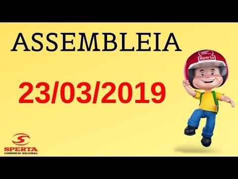Sperta Consórcio - Assembleia - 23/03/2019