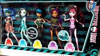 Novas Bonecas Monster High Frankie Stein Draculaura