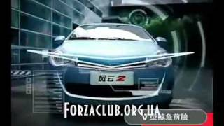 ЗАЗ Форза (chery a13) -реклама автомобиля