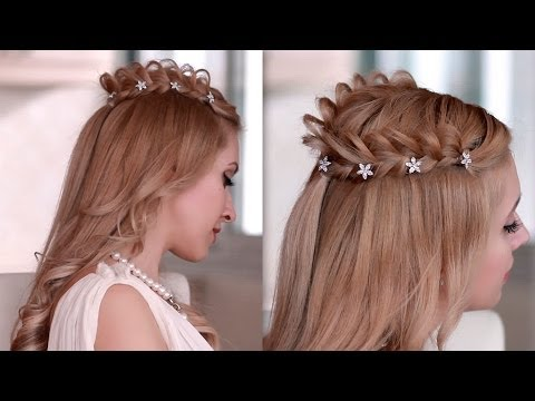 Princess/fairy/goddess hair tutorial for Halloween