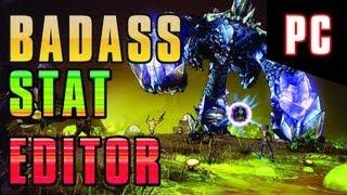 Borderlands 2 Badass Stat/Golden Key Editor【PC