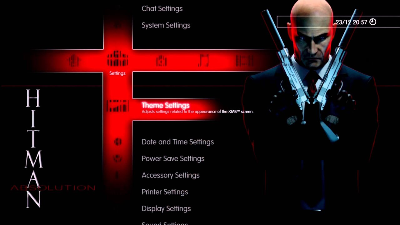 Hitman Absolution Dynamic PS3 Theme + FREE Download - YouTube