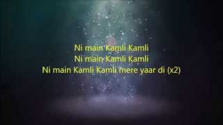 Kamli Kamli Dhoom 3 Full Song 2014 HD 1080p LYRICS