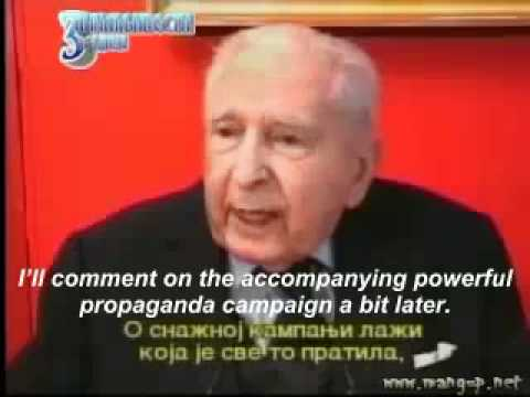 French General Truth About NATO Bombing of Yugoslavia 1999 - English Subtitles Part 1