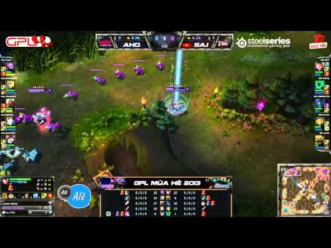 [GPL 2013 Mùa Hè] [Tuần 1] ahq eSports-club vs Saigon Jokers [12.05.2013]