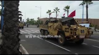 مثير بالفيديو.. معدات عسكرية تجوب شوارع الدار البيضاء ! | بــووز