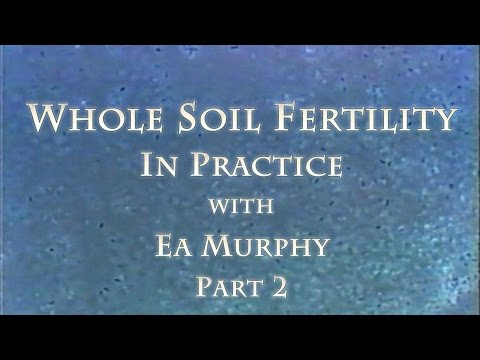 Whole Soil Fertility in Practice with Ea Murphy Part 2