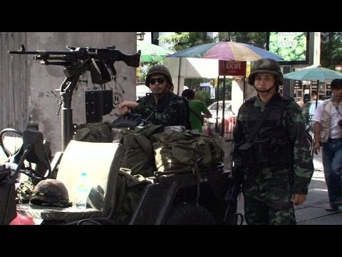 Thailand's military declare martial law