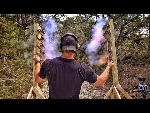 Is it possible to fire 10 guns at once?!?!