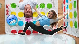 WE PLAYED TWISTER on ICE (Sister vs. Brother)