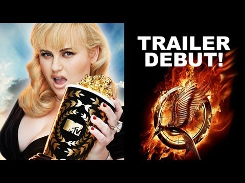 MTV Movie Awards 2013 - The Hunger Games 2 Catching Fire Trailer Debuts!, At the 2013 MTV Movie Awards, hosted by Rebel Wilson, the first official trailer for The Hunger Games 2 Catching Fire debuts! Beyond The Trailer host Grace R...