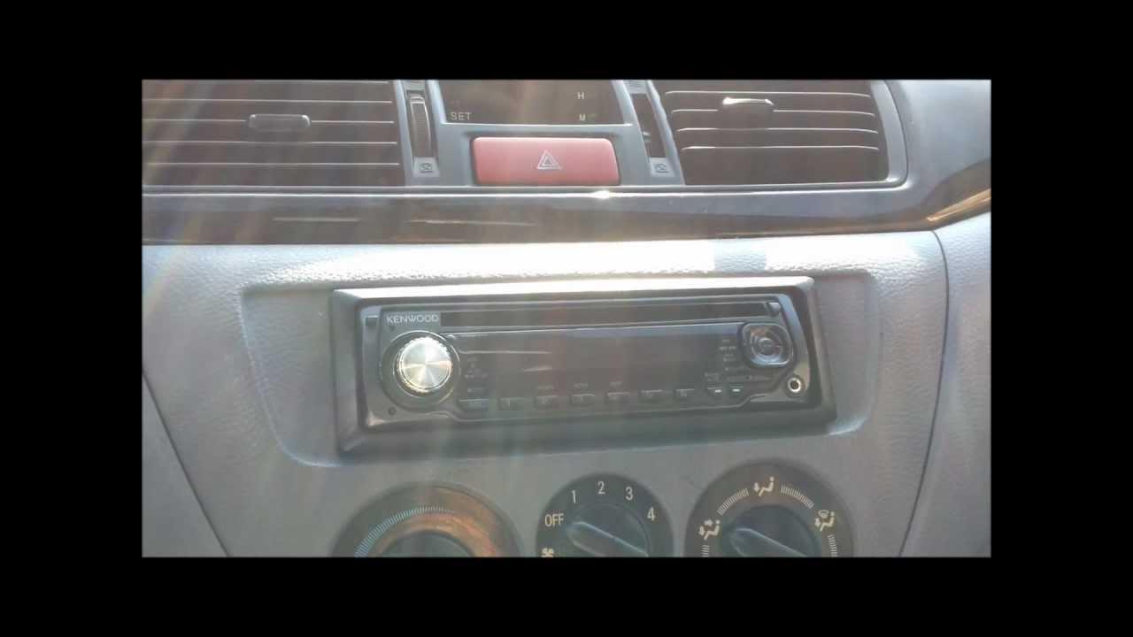 2002 Mitsubishi Lancer Stereo Install