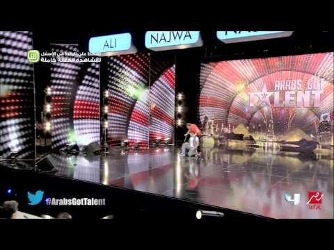 Arabs Got Talent - العبقري و إبراهيم - تجارب الأداء