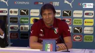 Conferenza stampa Antonio Conte - 1 settembre 2014