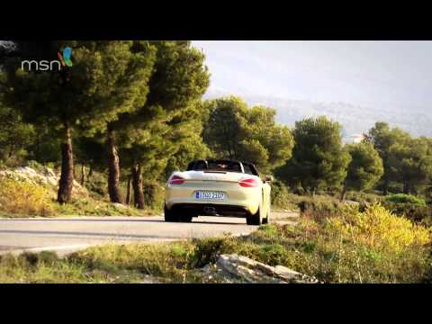 Porsche Boxster 2013 981 1080p HD MSN Cars test drive