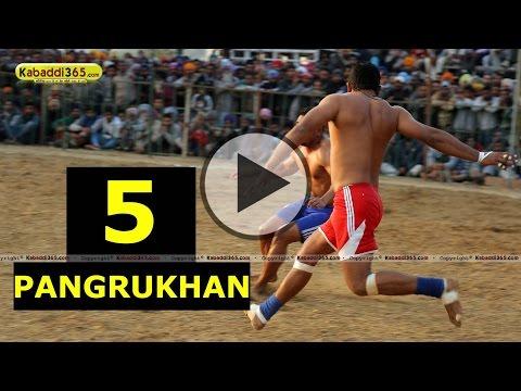 Pangrukhan (Khanna) Kabaddi Tournament 01 Jan 2015 Part 5 by Kabaddi365.com