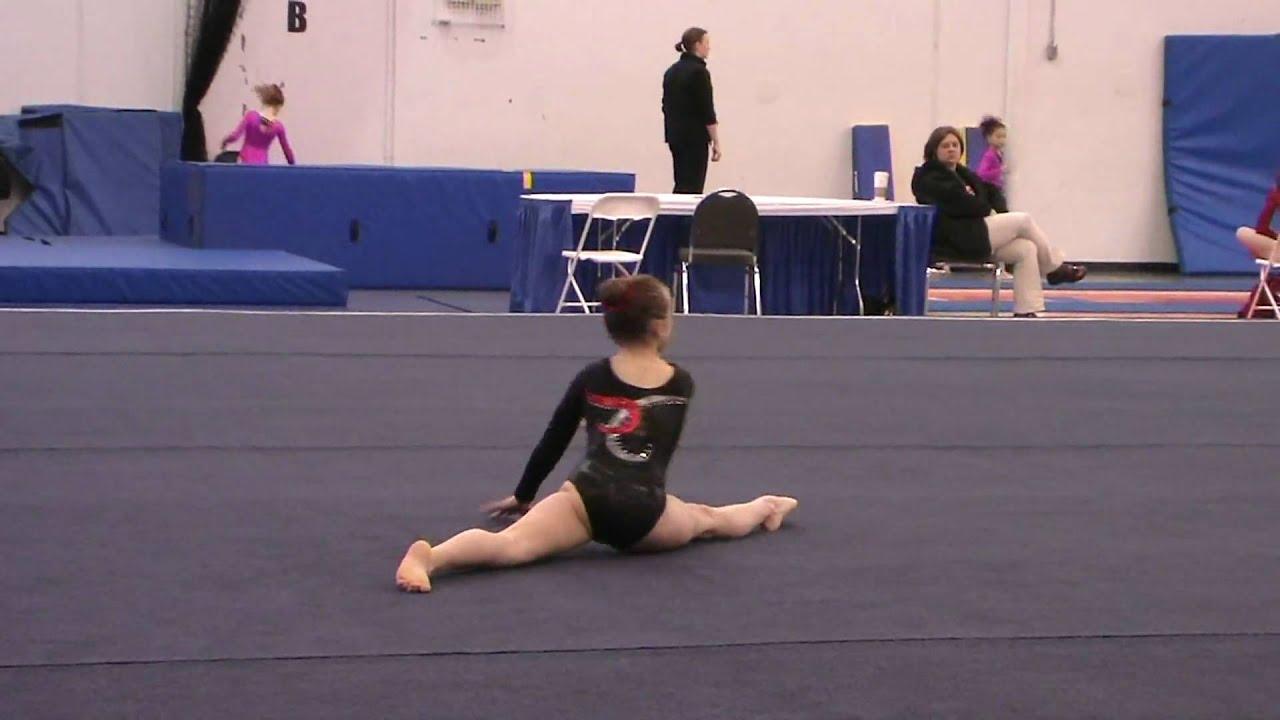Girls Gymnastics Level Floor Routine Youtube