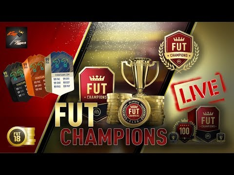 FUT Champions Live Part 2 - Road To 11 Wins - Fifa 18