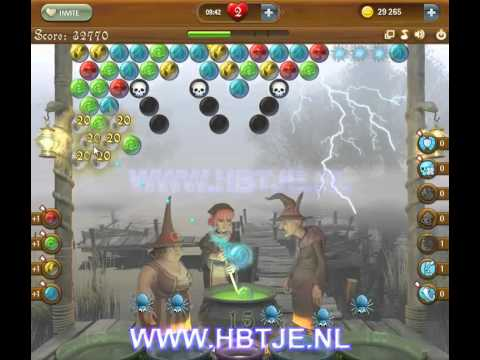Bubble Witch Saga level 60