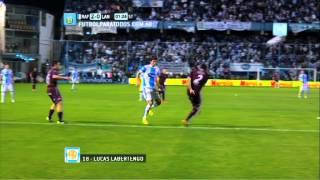 Gol de Albertengo. Rafaela 2 - Lanús 0. Fecha 2. Torneo Primera División 2014. FPT