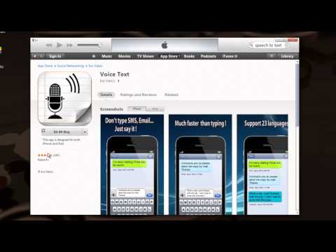 Speech to Text App for the iPhone : Mobile Apps
