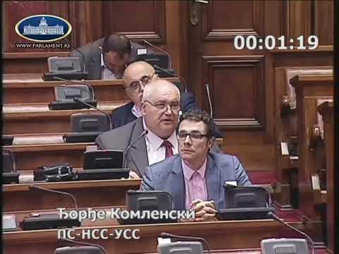 Ђорђе Комленски Љотићевци нису антифашисти 24.5.2018.