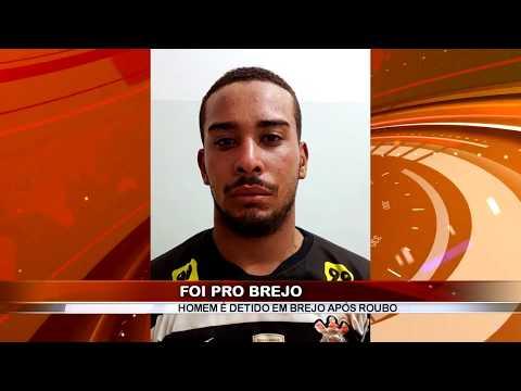 10/01/2018 - Homem pratica roubo, foge da polícia e tenta se esconder em um brejo mais foi preso pela Polícia Militar em Guaíra