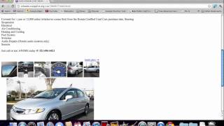 Craigslist Orlando Used Cars For Sale By Owner FL Search