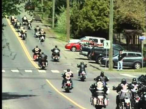 Hells Angels Gather in Campbell River