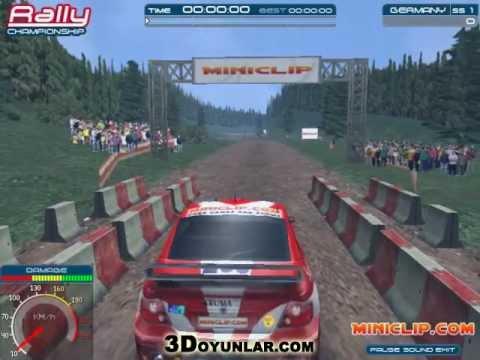 3d Ralli Yarışı | 3d Araba Oyunları