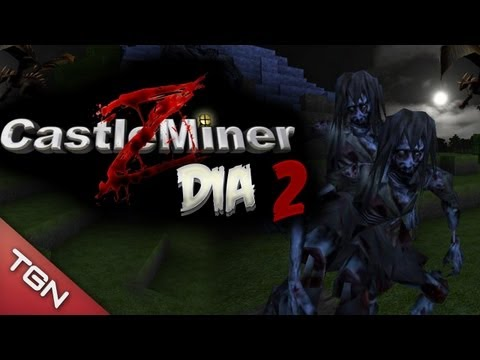 CASTLE MINER Z SURVIVAL: RpGMan el indomable y Bers el Cauto #2