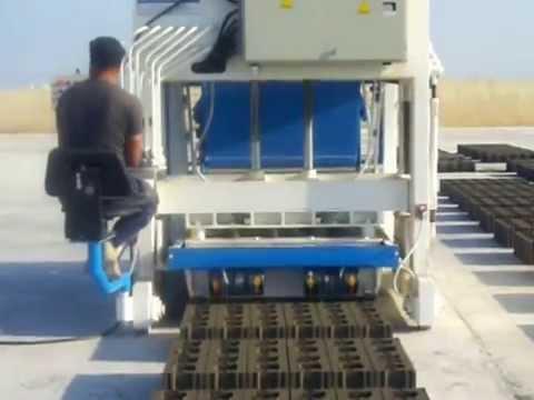 OYBM12 Yürüyen Briket Makinası