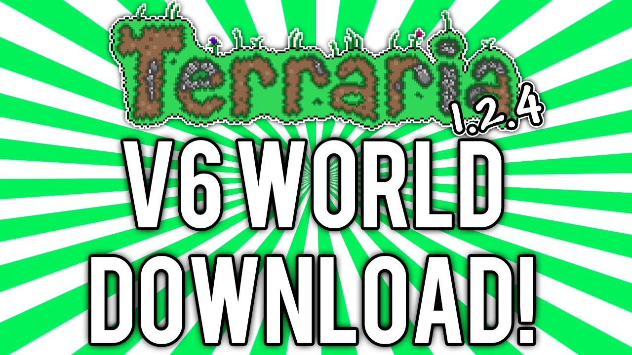 Terraria 1 2 4 updated world download v6 all fishing for Fishing poles terraria