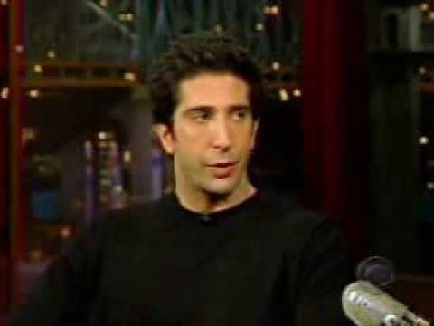 David Schwimmer - Letterman 2002