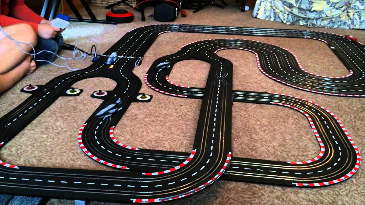 hotwheels electric racing formula pro challenge 4 track ebay 111200675811 youtube. Black Bedroom Furniture Sets. Home Design Ideas