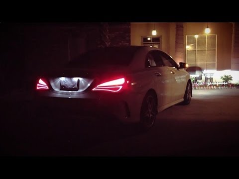 2014 Mercedes Cla 250 Night Light View Exterior Youtube