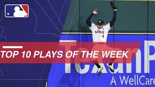 Watch the top 10 plays from the NLCS and ALCS