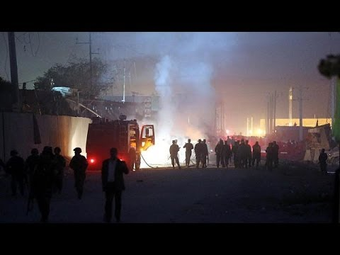 Taliban suicide car bomb attack kills up to five in Kabul