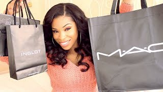 Shirley B. Eniang – Massive Makeup Haul!!! MAC, Bobbi Brown, Inglot & More!