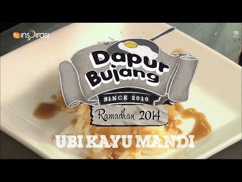 #DapurBujang Ramadhan: Ubi Kayu Mandi.