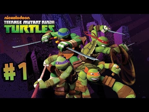 Nickelodeon's Teenage Mutant Ninja Turtles - Walkthrough - Part 1 - Roof (X360) [HD]