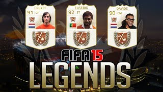 FIFA 15 LEGENDS - EUSEBIO, DAVIDS & CRUYFF! POTENTIAL FUT 15 LEGEND CARDS!