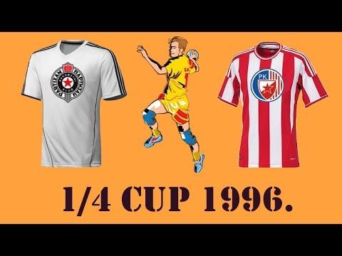 RK Partizan – RK Crvena Zvezda (1996. godina) – 1/4 Kupa