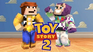 MINECRAFT | Toy Story 2 Adventure Map Part 2: w/ SGCBarbierian!!! *Storytime/Survival""
