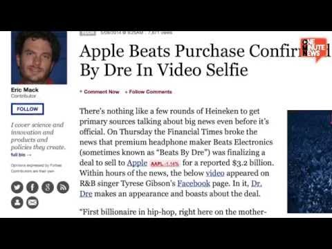 Hip Hop's First Billionaire Dr. Dre Video Confirms Apple Beats Deal