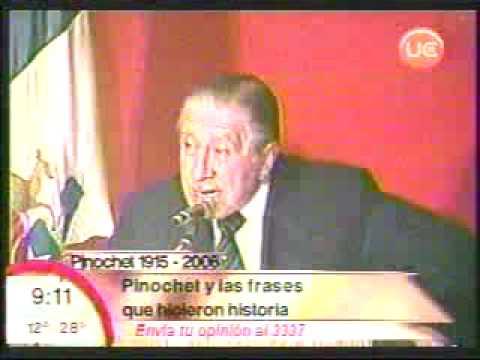 Frases Históricas Pinochet