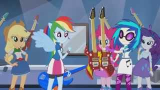 Equestria Girls Rainbow Rocks Focada Na Guitarra