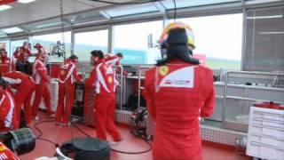 Alonso prueba el F150