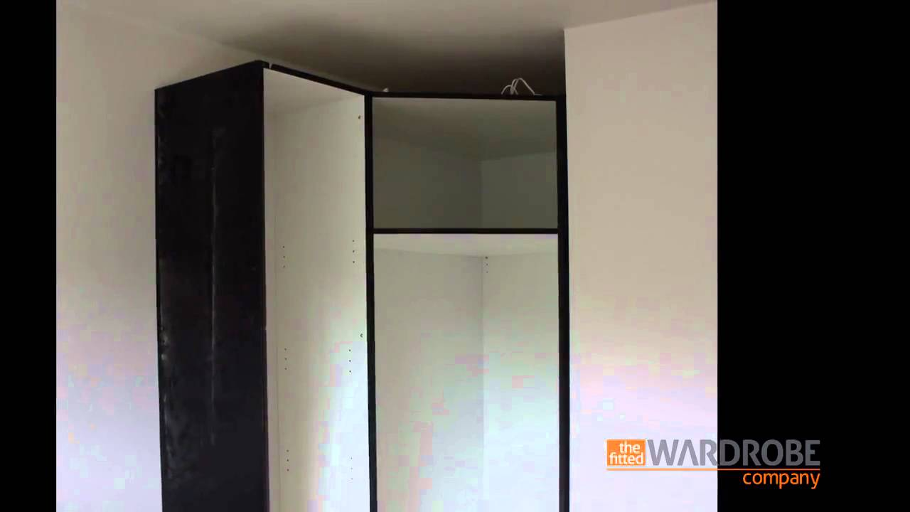 Ikea Wohnzimmer Zusammenstellen ~ Details About Pax Wardrobe With 2 Sliding Doors Black Brown Auli
